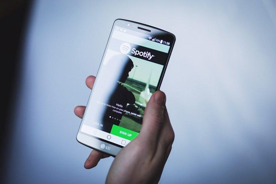 Spotify auf dem Handy